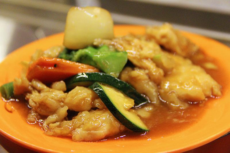 Warme Asiatische Speisen