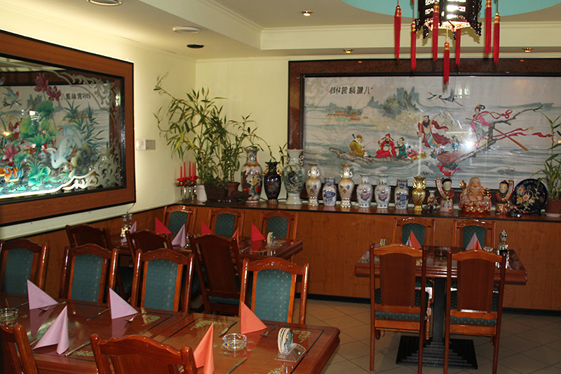 China Restaurant Mandarin Interieur