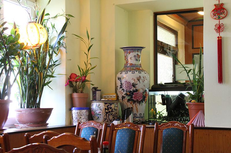 China Restaurant Mandarin Interieur