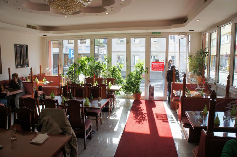 Asia Restaurant Mandarin Interieur