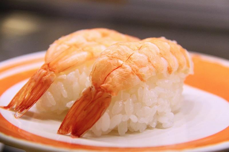 Garnelen Sushi