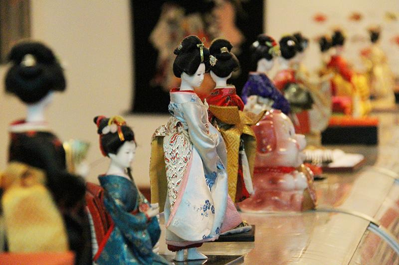 Geisha-Puppen